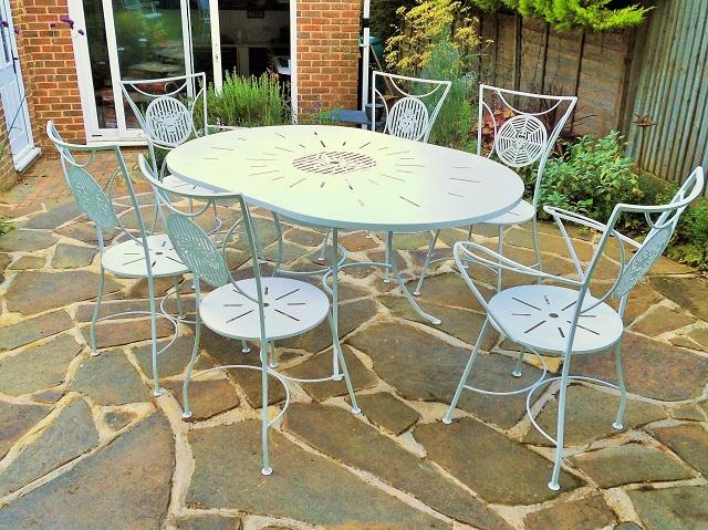 Metal Garden Furniture Sets