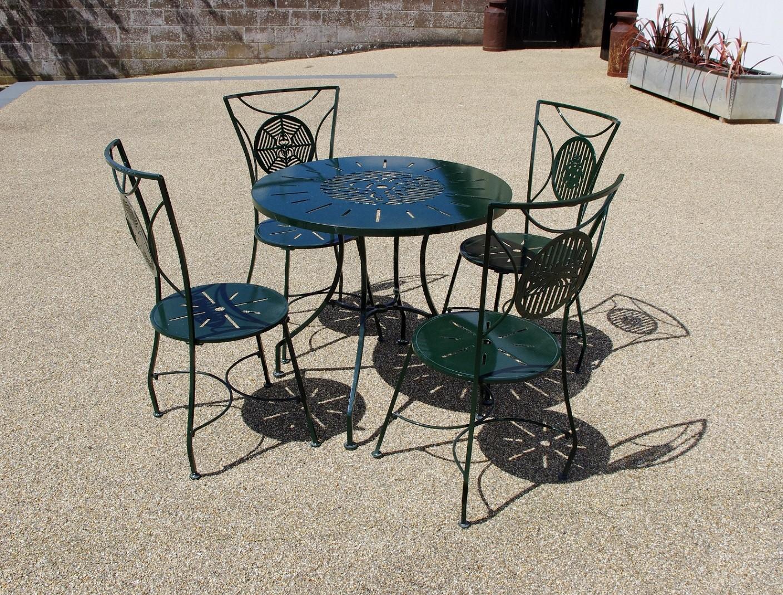 Metal Garden Furniture Sets Weather Resistant Chris Bose
