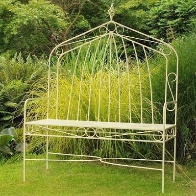 Contemporary garden furniture metal