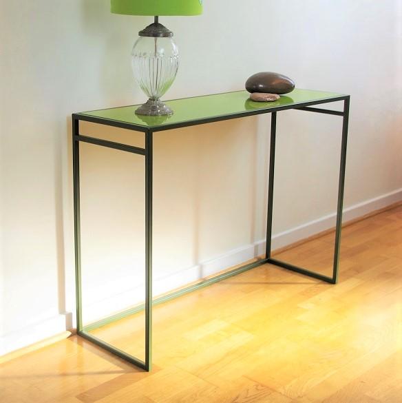 Slim console table